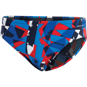 Dolfin Dynamite All over Racer Heren, dynamite red/white/blue